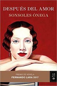 Recomendaciones de libros portada despues del amor