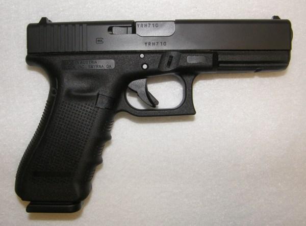 Glock 17 Gen 4 9mm Pistol with Shooting Range Bag (New ...