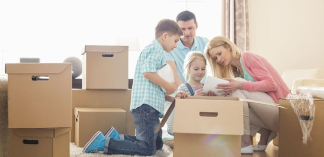 Moving With Children Tips - Pony Express Moving Services