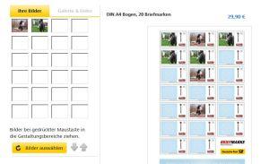 ponyreitenrockt Briefmarken Idee II