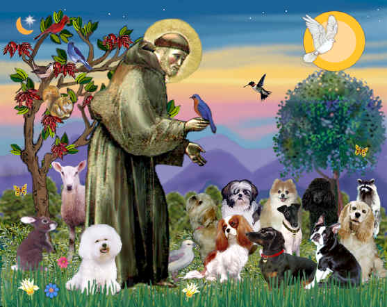 The Feast Of Saint Francis- October 4 Each Year-Blog Post 1