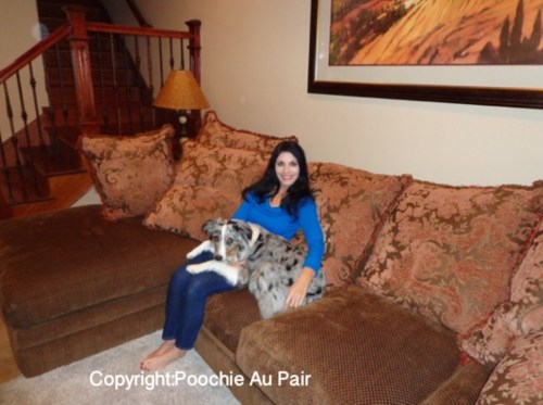 Ceilidh and I on Sofa Color and Copyrighted 40 percent size