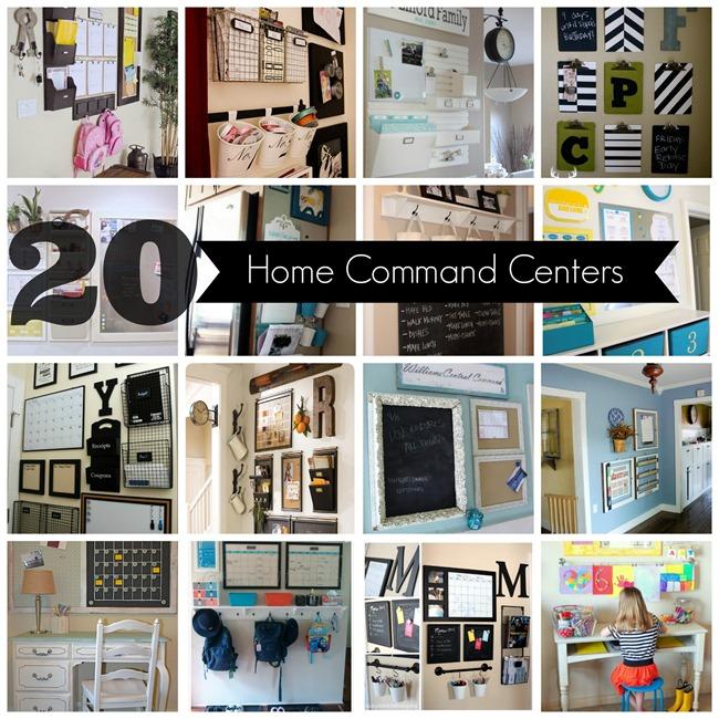 20 Inspiring Home Command Centers