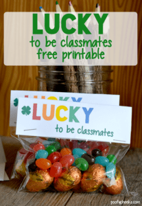 lucky to be classmates printable