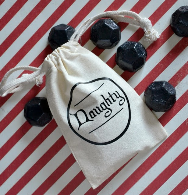 Naughty Bag for Santa Claus's Coal