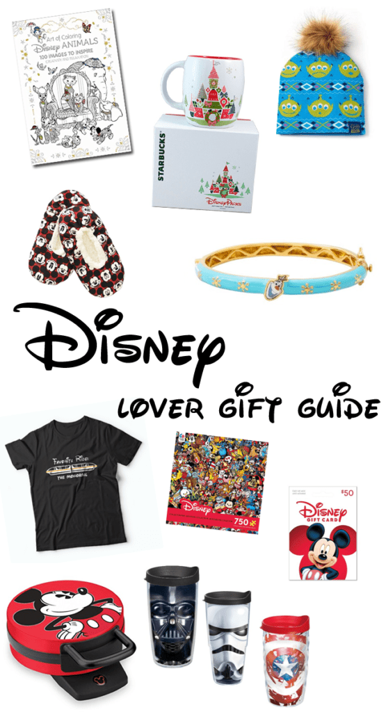 Disney Lover Gift Guide - the best gifts for someone who LOVES Disney.