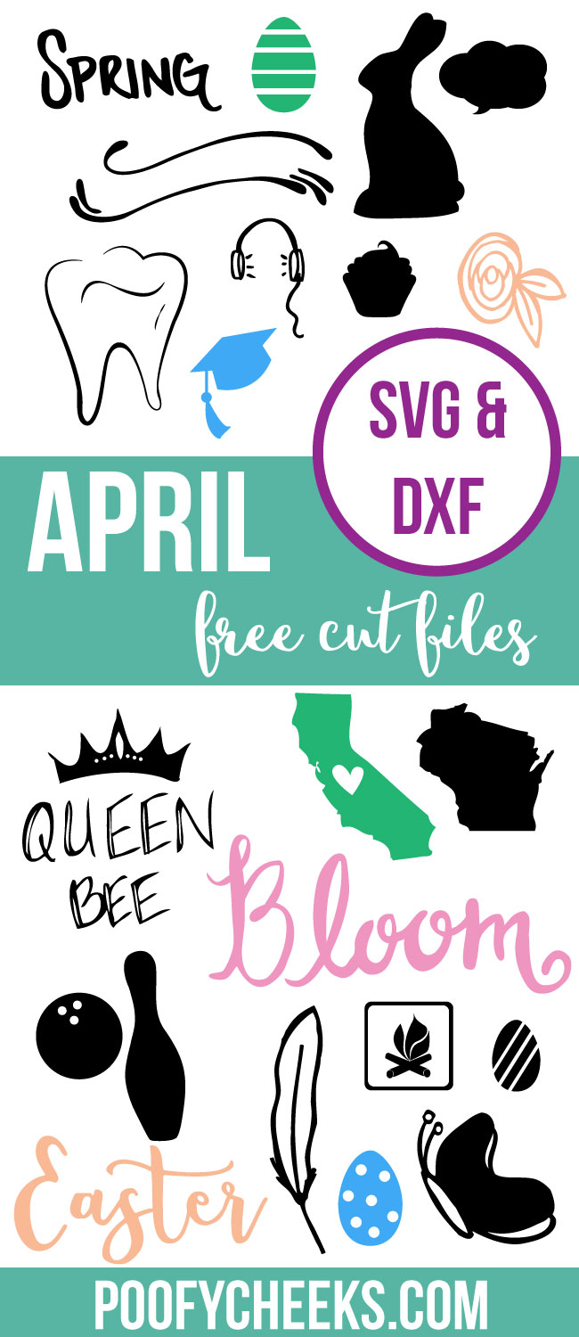 April Free Cut File