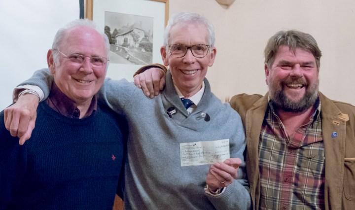 Rob Ayles, Charles Jardine, John Aplin