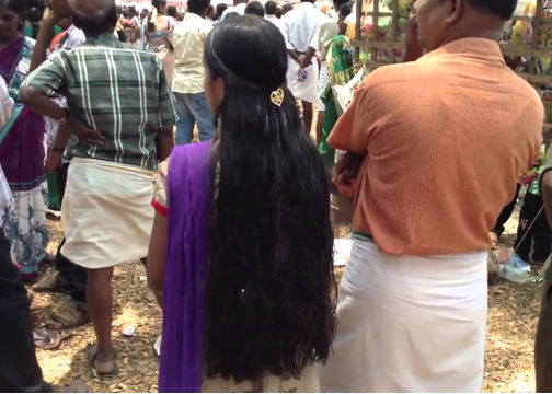 spiritual effect of women leaving their hair loose
