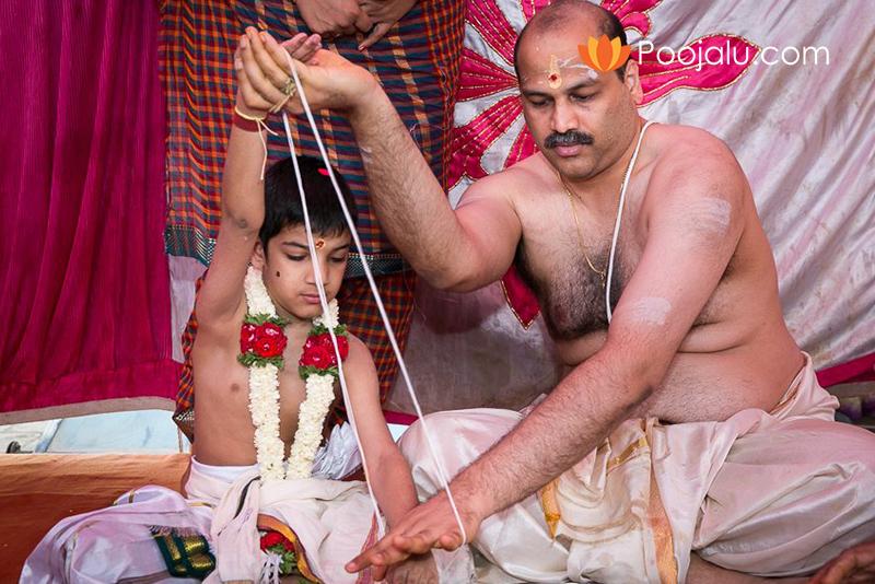 Telugu Pandit For Upanayanam (Odugu) Sanskara   Thread Ceremony