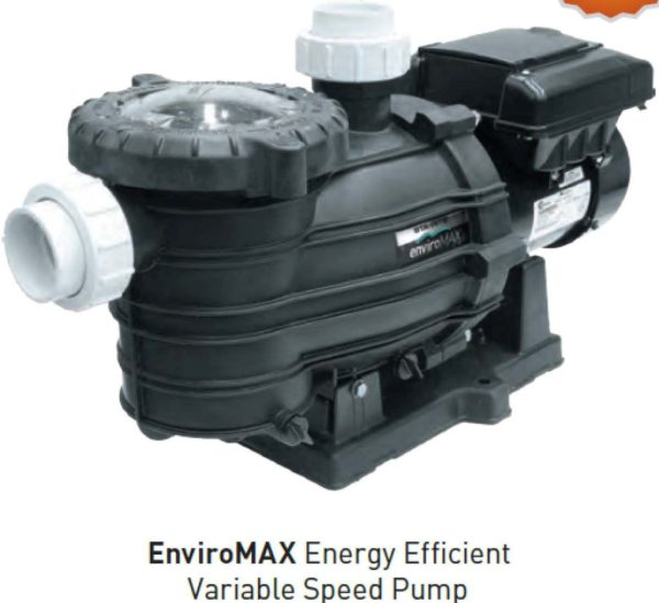 Enviromax Energy Efficient Variable Speed pump