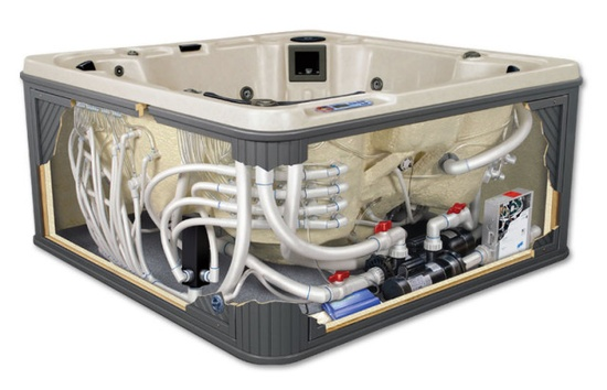 Hot Tub Spa Parts Heaters Jets Spa Equipment Packs