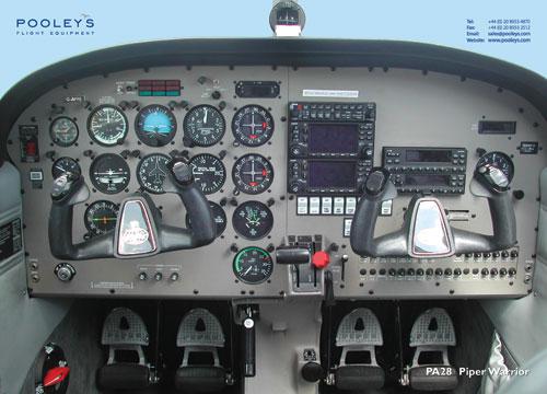cessna 172 cockpit poster