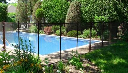 Home Pool Guard Removable Fence Distribution Pool Guard