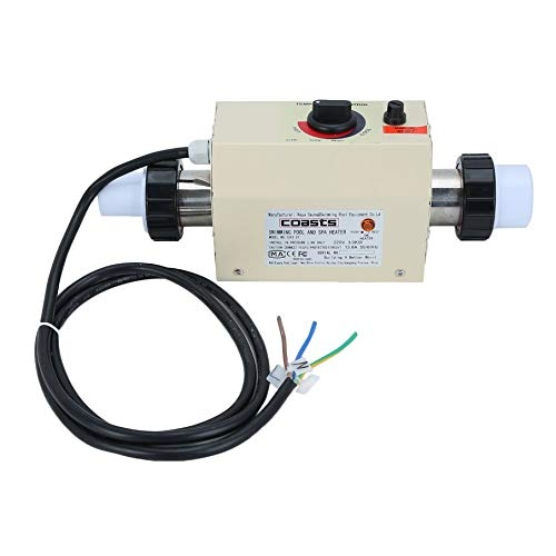 220V 5.5KW Thermostat Swimming Pool SPA Home Bath Hot Tub Electric Water Heater
