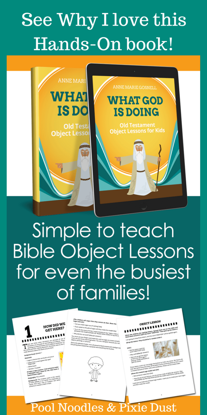 Hands-On Old Testament Bible Lessons. A new book to bring these stories to life and help parents to teach biblical truth and Christian worldview to their kids.