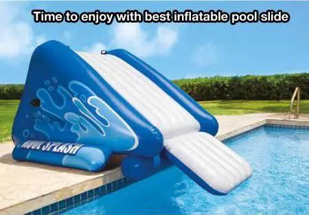 Best Inflatable Pool Slide