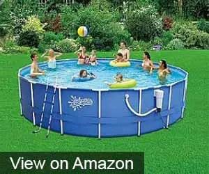 Round Frame Pool