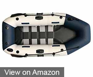SEA DOG 3 PERSON STRIPBOARD INFLATABLE BOAT RAFTING FISHING DINGHY TENDER PONTOON FLOOR BOAT
