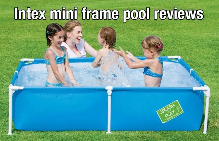 intex mini frame pool reviews