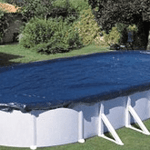 winter above ground pool cover