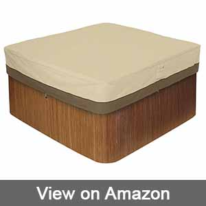 Classic Accessories 55-585-011501-00 Verdana Square Hot Tub Cover