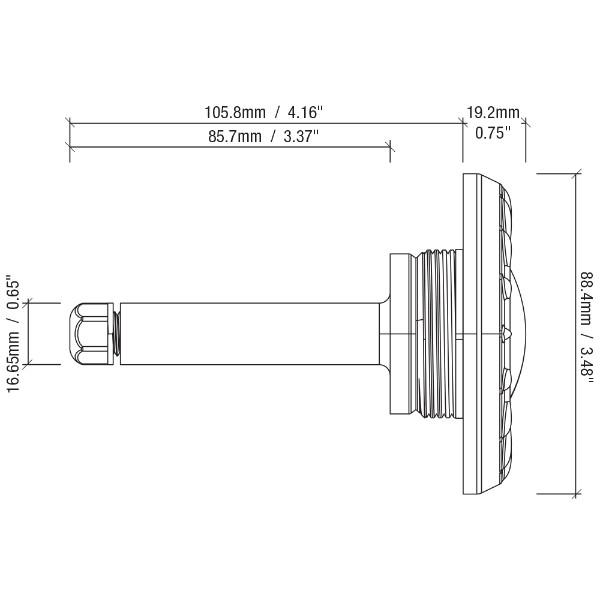srsmith poollux power transformer lighting control system  60 watt 120v   includes 2 modlite pool lights  2mlplxpw60
