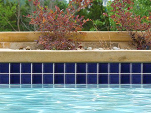 national pool tile marine field 3x3 series pool tile royal blue m320