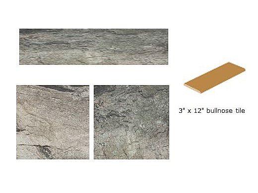 national pool tile firestone 3x12 bullnose series trim tile gray frst gray sbn