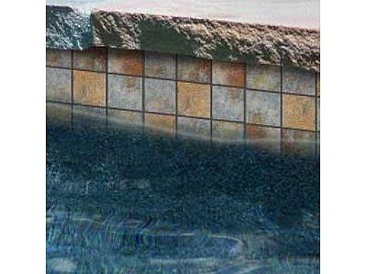national pool tile raku 2x2 series ocean blue ruocean2x2