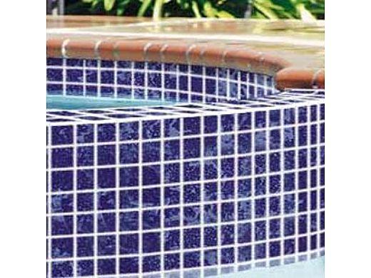 national pool tile 2x2 glazed series lake blue bx44