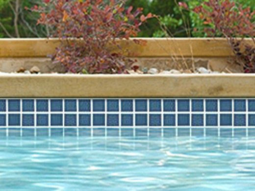 national pool tile 2x2 glazed series navy blue hm 240
