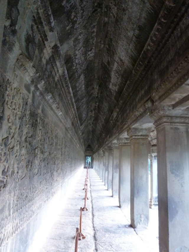 Long Pillared Galleries with Bas-reliefs