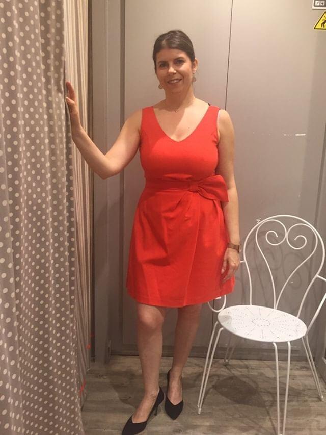 La robe élégante de Steffanie