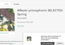 PrimePhonic Spring Album Promo