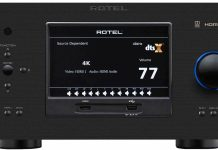 Rotel's RAP-1580 Dolby Atmos processor