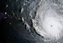 Hurricane Irma, the most powerful Atlantic hurricane ever recorded, moves westward towards Florida. Photo credit: NOAA