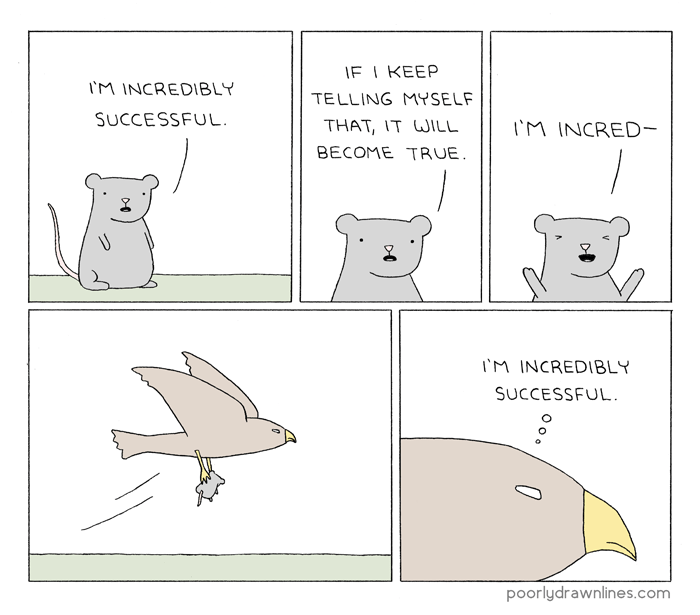 Image result for stay positive poorly drawn lines
