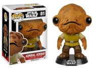 STAR WARS – FORCE AWAKENS - ADMIRAL ACKBAR - FUNKO POP! VINYL FIGURE