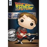 Back to the Future #20 Variant Mike Martin Funko Art Variant Cover