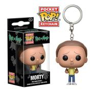 RICK AND MORTY - MORTY - FUNKO KEYCHAIN VINYL FIGURE