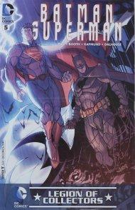 Batman/Superman #5 Legion of Collectors Variant Cover