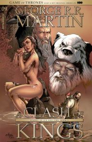 Game Of Thrones: Clash Of Kings #9 Mel Rubi Subscription Variant Cover
