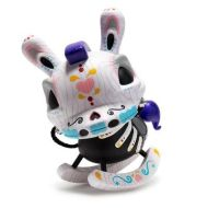 KIDROBOT - SUGAR SKULL COLORWAY - DEATH OF INNOCENCE 8'' INCH DUNNY BY IGOR VENTURA