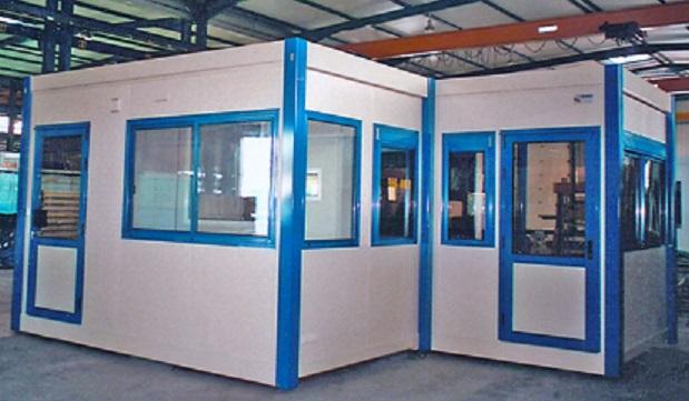 une cabine d atelier peut etre concue sur la base d une construction modulaire