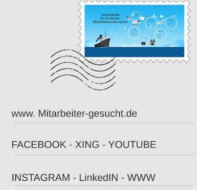 Social-Media Recruiting –  Personalmarketing 4.0