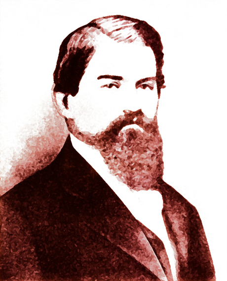 John Pemberton, the inventor of Coca-Cola