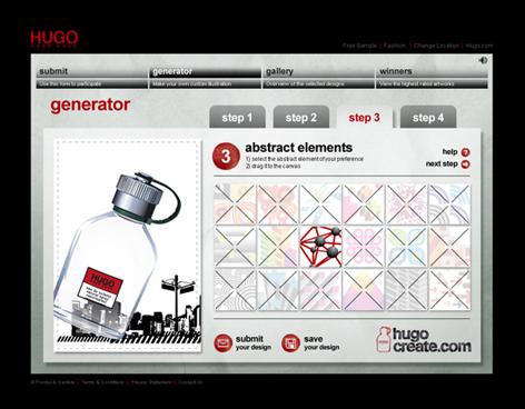 HUGO Create design generator