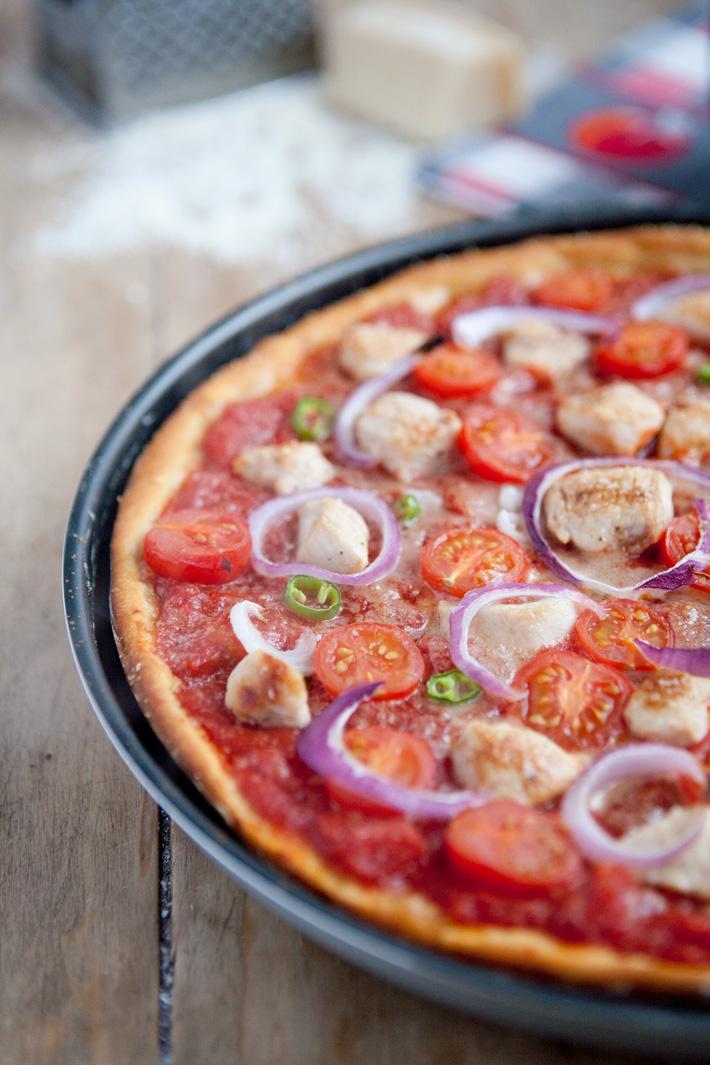 Battle Food 2 - Pizza au Guacamole