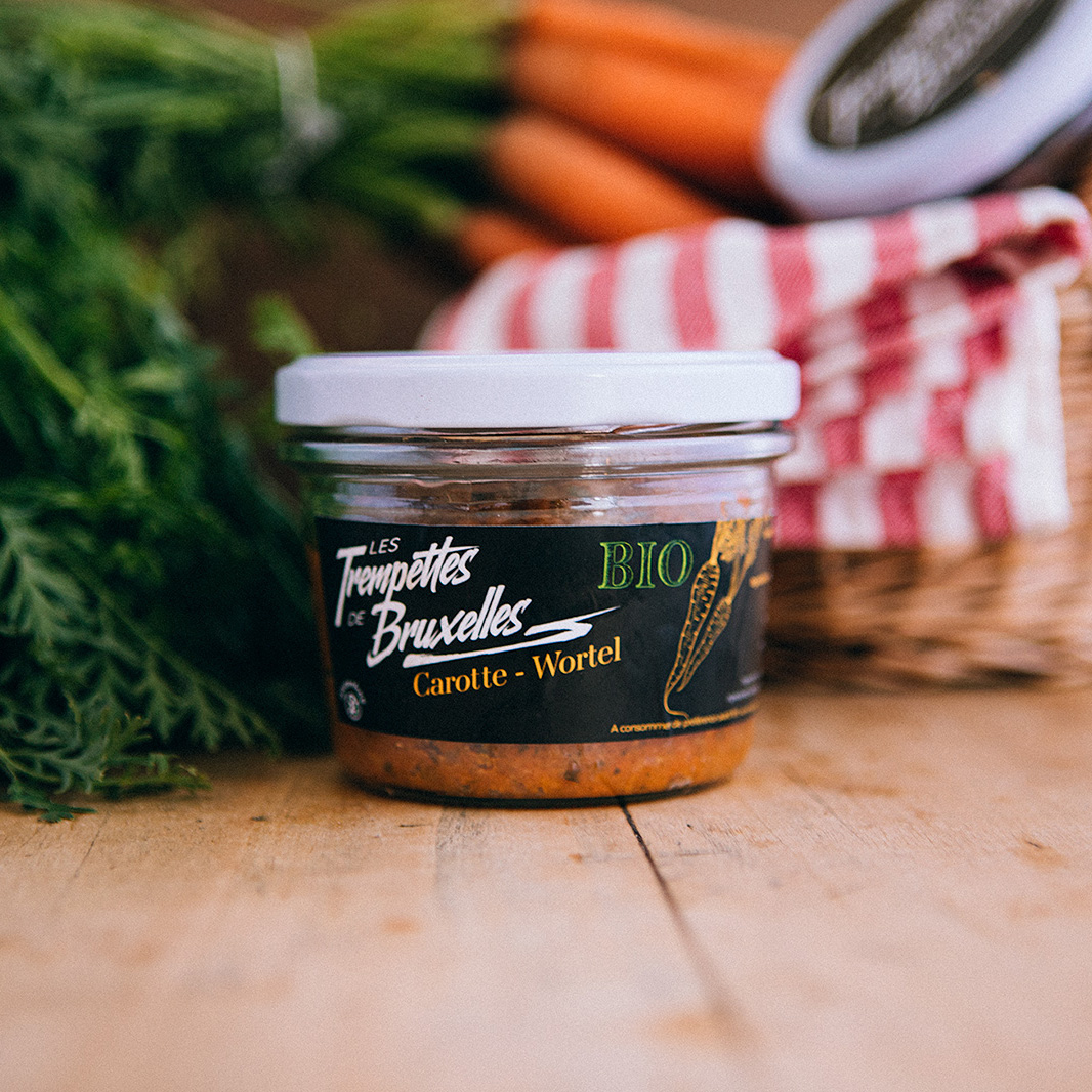 Les Trempettes de Bruxelles – Carrots recipe